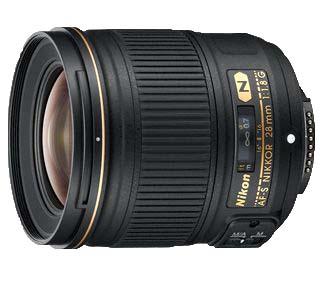 Nikon 28mm 1.8G AF-S Lens