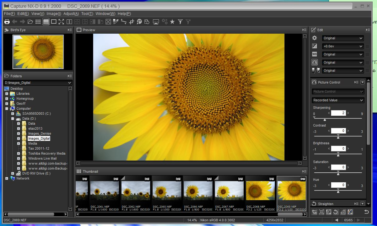 Nikon capture nx d image processing software review all for Image capture