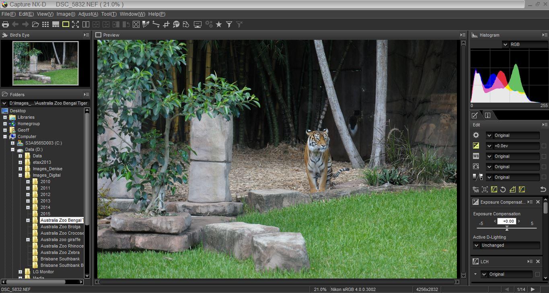 Nikon viewnx i review all digital photography editor baditri Gallery