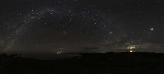 Milky Way Arc