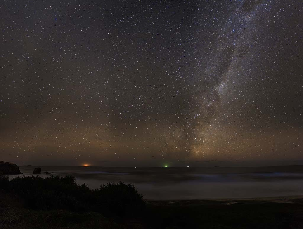 Milky Way from Brooms Head New South Wales