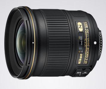 NIkon Nikkor 24mm 1.8 Lens