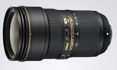 Nikon Nikkor 24-70mm 2.8E ED VR AF-S Lens