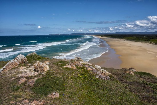 Seascape, Red Rock, New South Wales