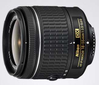 Nikkor 18-55mm f3.5-5.6G AF-P DX
